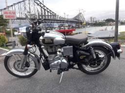 Moto royal infeld 500 cc cromo