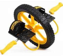 Roda Abdominal Core Whell Pretorian Amarela - Amarelo