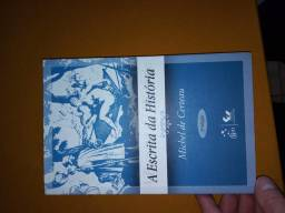 Livro A Escrita da História - Michel de Certeau. Historiografia, Teoria