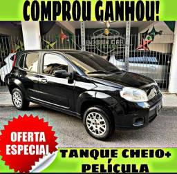 TANQUE CHEIO SO NA EMPORIUM CAR!!! FIAT UNO VIVACE 1.0 ANO 2015 COM MIL DE ENTRADA