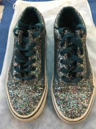 Tênis Feminino Vans glitter