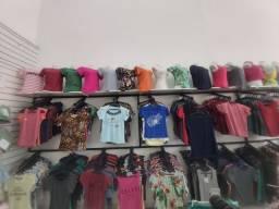 Lote de roupas novas, 10 peças R$ 150