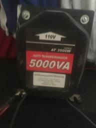 Transformador semi novo 5 mil va