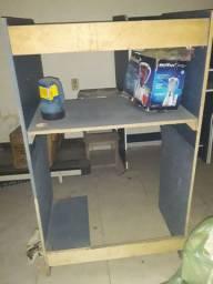 Cabine mesa pra computador cyber café lan house