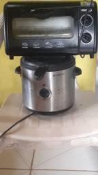 Forno e fritadeira elétrica para conserto