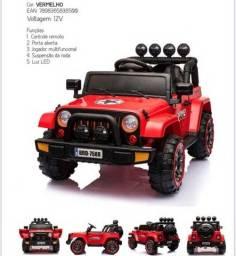 Título do anúncio: Promoção Jeep  Infantil 12V 2 motores