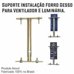 Título do anúncio: Suporte Instalação Forro Gesso Para Ventilador E Luminária.