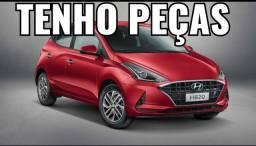 Título do anúncio: Sucata Hyundai Hb20 1.0 3cc 2021autm  para retirada de peças