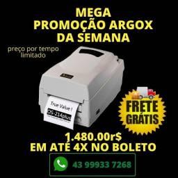 impressora argox 214 plus nova com garantia de fabrica