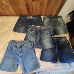 Lote de calças jeans Tam 36 com 5 peças