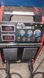 Máquina solda tig multi processo 3 em 1 350 amper