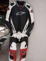 Macacao motociclista alpinestars Tm 56 euro GP Pro