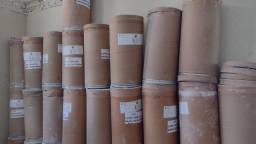 Barrica de papelão 50kg usada