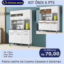 Título do anúncio: Kit Ônix 6 portas - cores - até 6x sem juros