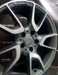 Roda RAW Mercedes AMG C43 Aro 18x8 5x112 Et48