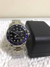 Relógio Rolex GMT Master II Quartz Até 3x Sem Juros no Cartão
