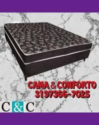 Título do anúncio: FRETE GRÁTIS, SÓ NA CAMA E CONFORTO, CAMA BOX CASAL $379,90!