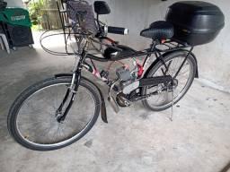 Bicicleta motorizada 100 cilindrada!