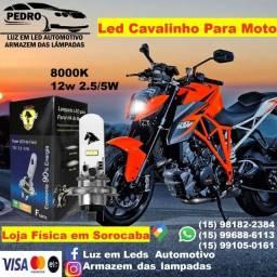 ATENÇÃO MEGA PROMOÇÃO LÂMPADA DE LED PARA MOTO CAVALINHO APARTIR DE 39.00 A UNIDADE
