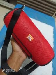 Caixa de Som JBL cores Azul, Vermelha, Preta e Camuflada