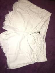 Título do anúncio: Shorts branco
