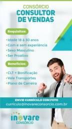 Título do anúncio: Empresa de Consórcio Contratar Vendedor Interno em Vila Velha
