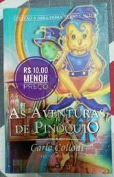 Título do anúncio: Livro As Aventuras de Pinóquio