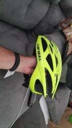 capacete de ciclismo verde neao