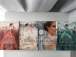 Kit Livros A seleção - Kiera Cass