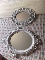 Vendo espelhos decorativos os dois por 70