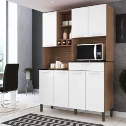 Armario de Cozinha Compacta Verdot 7 PT 1 GV (Promoção)