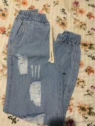 Calças jean nos tamanhos 36/38