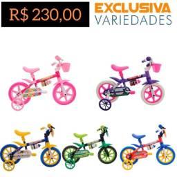 Título do anúncio: Bicicleta Infantil Aro 12 R$ 230  · Em estoque