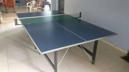 Mesa Ping Pong dobrável caseira