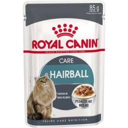 Sachê Royal Canin Feline Hairball Care Eliminação de Pelos Ingeridos para Gatos - 85g