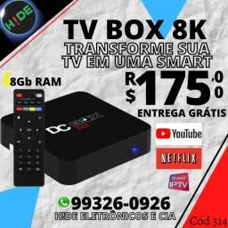 Smart DC Box 8GB Ram (entrega grátis)