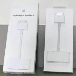 Cabo Adaptador Hdmi para iphones, ipads e ipods 30 Pinos Apple Original na Caixa