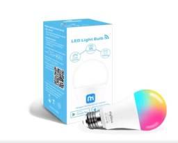 Lâmpada Inteligente Colorida 9W Alexa Google Home