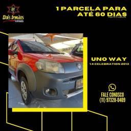 Título do anúncio: Fiat Uno Way Evo 1,4 Celebration 2013 Lindo
