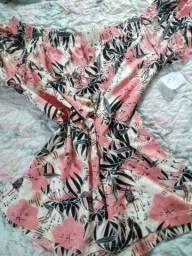 Blusa ciganinha+vestidinho.