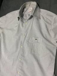 Camisa Social Lacoste Original