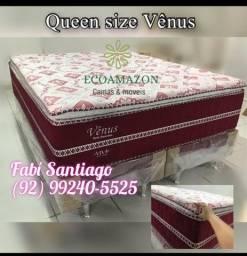 Título do anúncio: Cama Queen vênus ##2 entrega grátis?