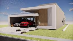 Título do anúncio: Linda casa térrea, alto padrão, em estilo contemporâneo à venda no Condomínio Florais Itál