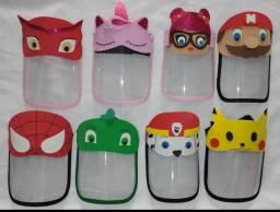Máscara infantil de proteção de Personagens