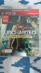 Jogo PS3 Uncharted mídia física