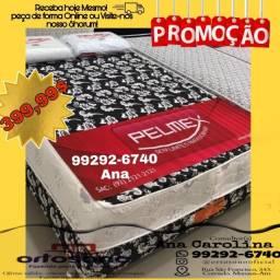 Título do anúncio: /\/\Cama Box Casal Espuma +2 travesseiros /\/\/\/\/\/\