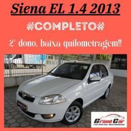 Lindo Siena EL 1.4 2013 Completo/ 2º dono/ Impecável