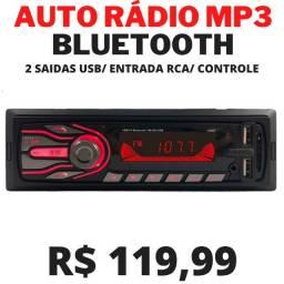 Auto Radio C/ Bluetooth USB
