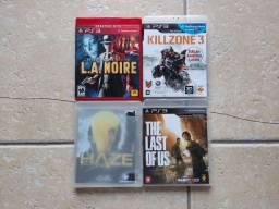 Título do anúncio: 4 jogos originais de PS3