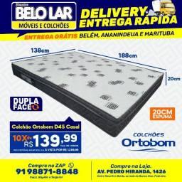 Colchão Ortobom D45 Casal, Compre no zap *